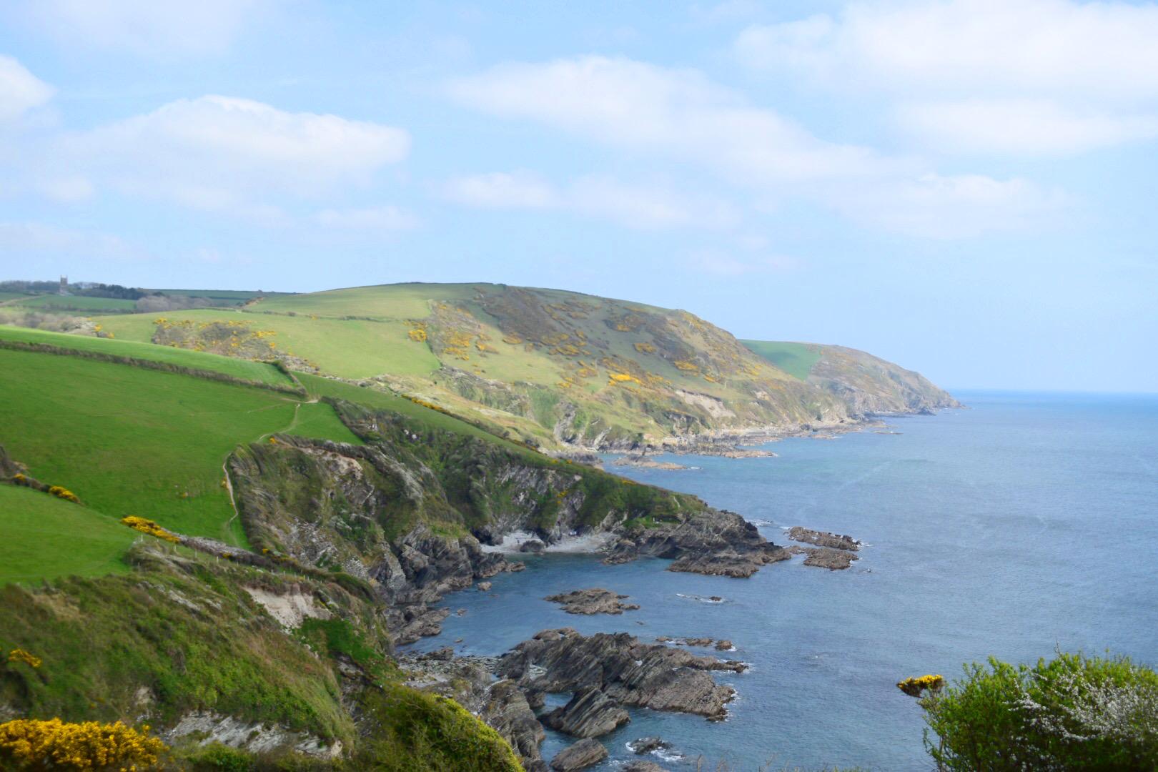 the Coast Path has stunning views!