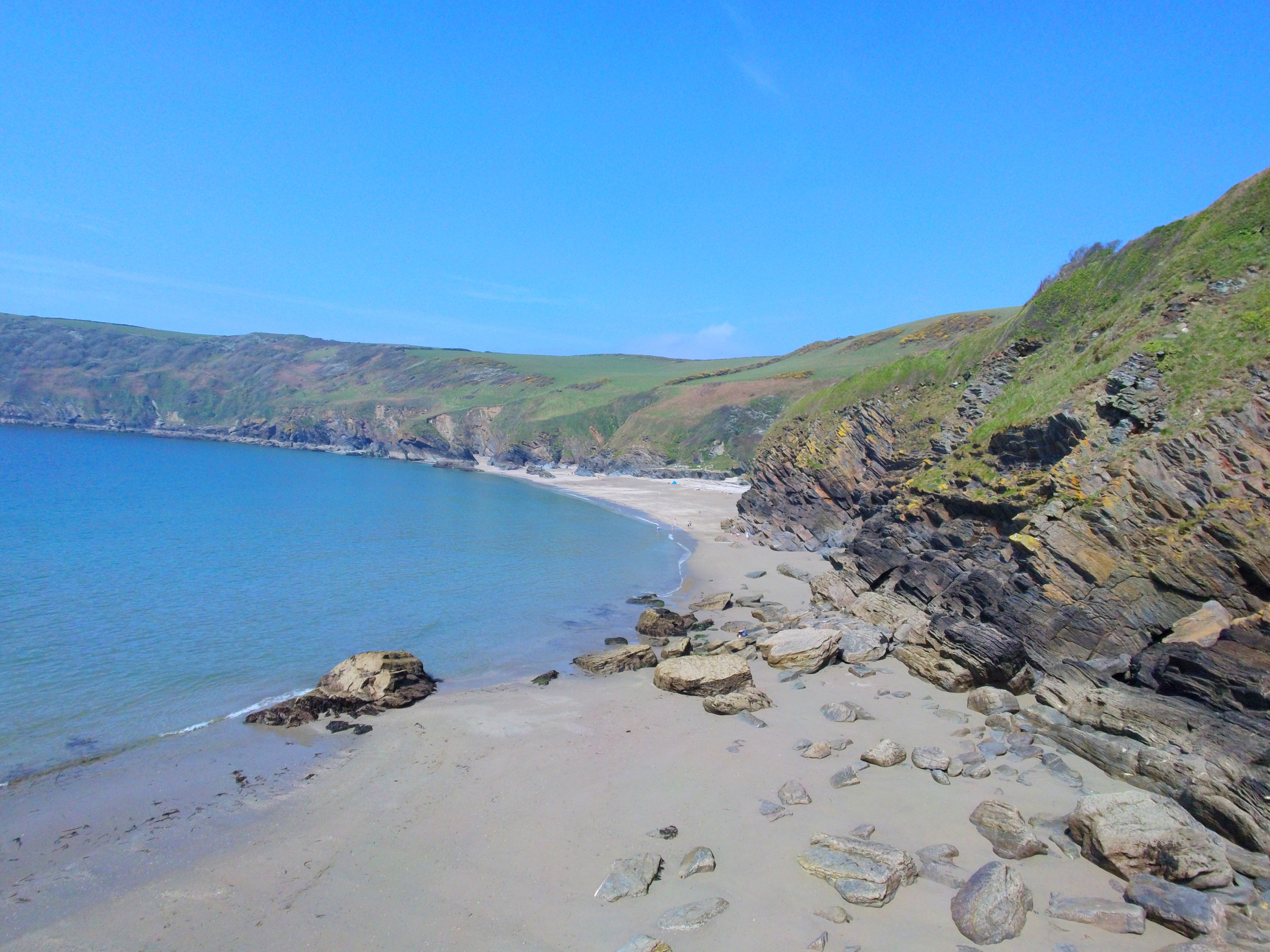 drone view of Lantic Bay