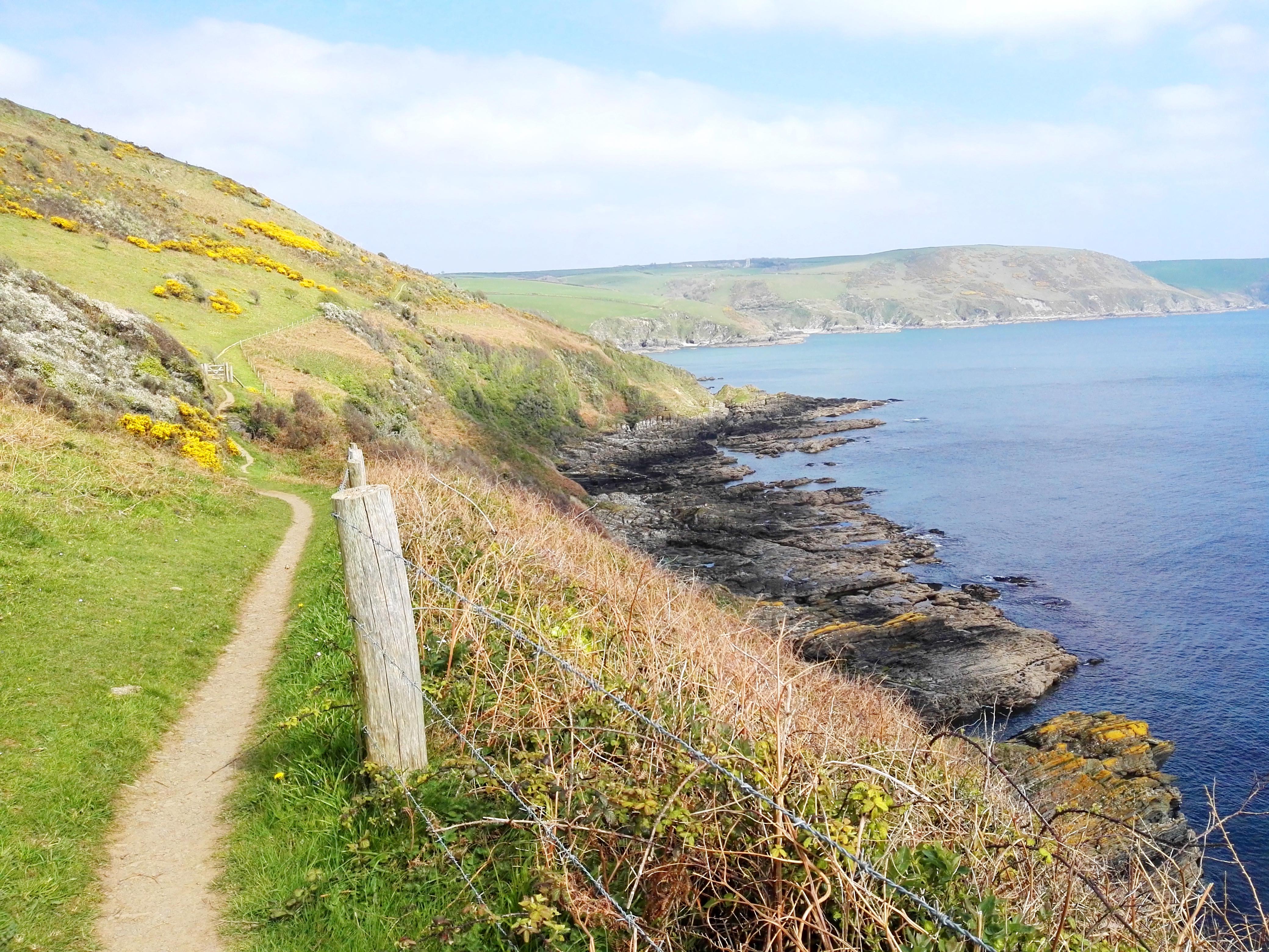 The winding Coast Path