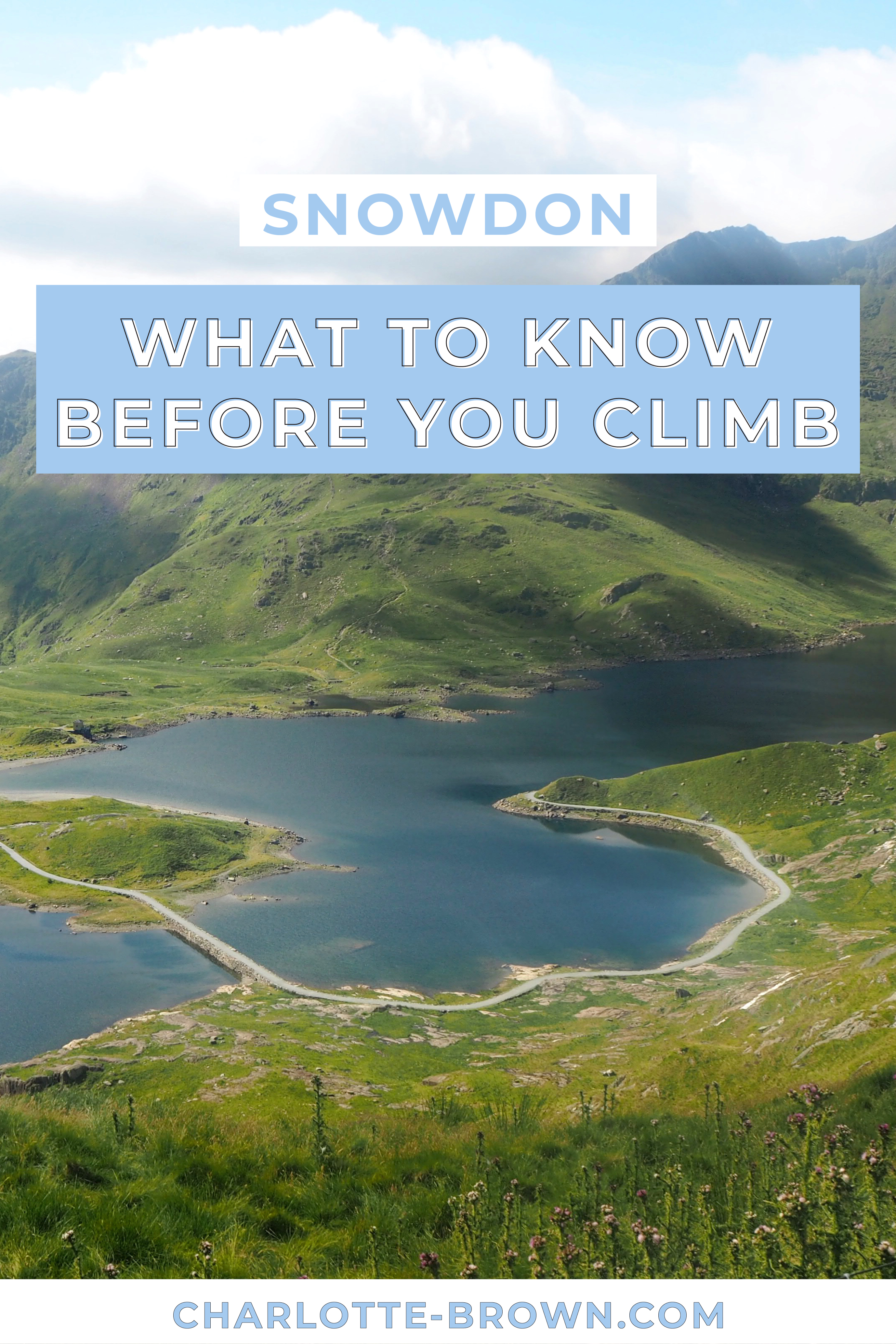 Pinterest Pin to save my post on What To Know Before You Climb Snowdon