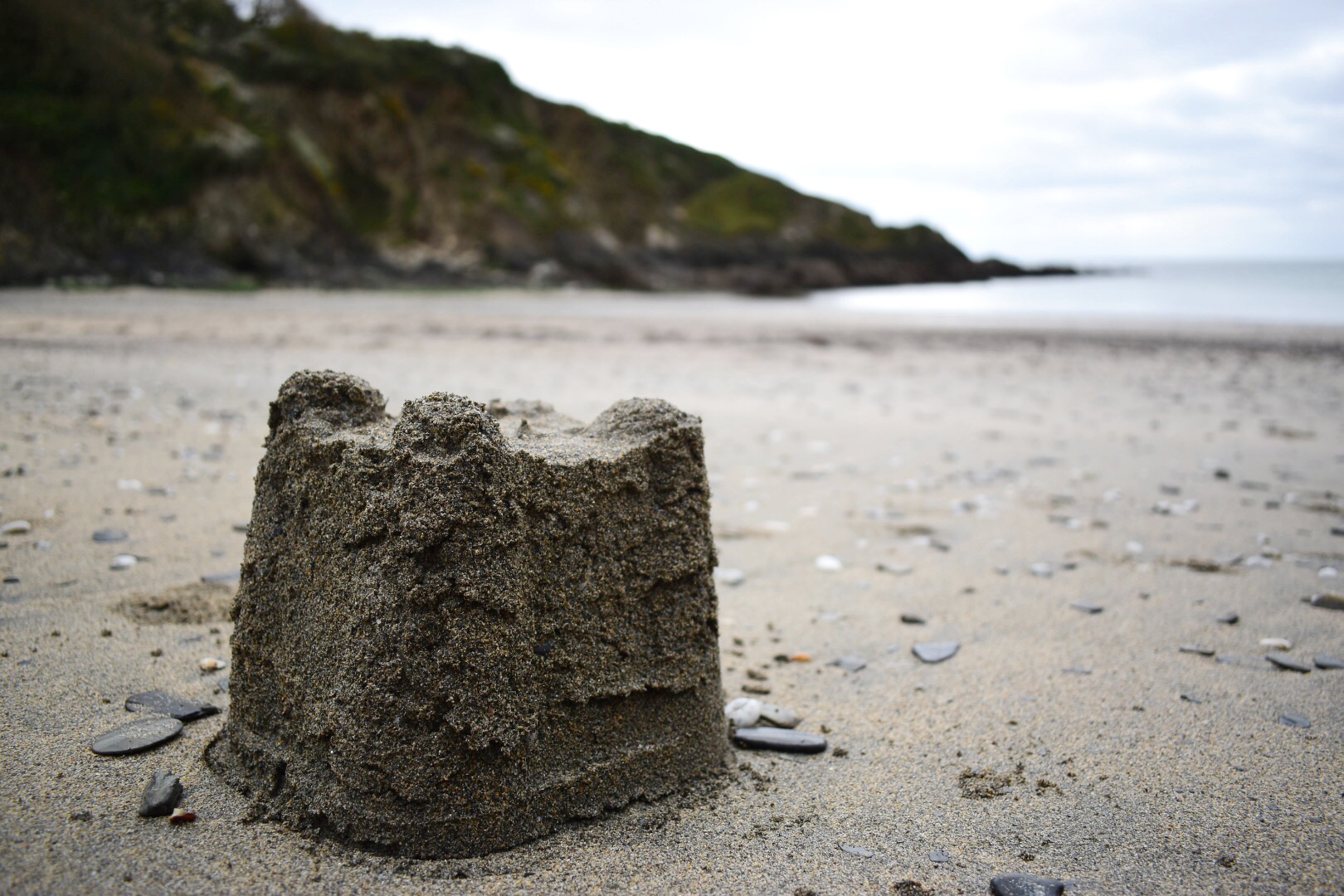 Sandcastle at Polridmouth