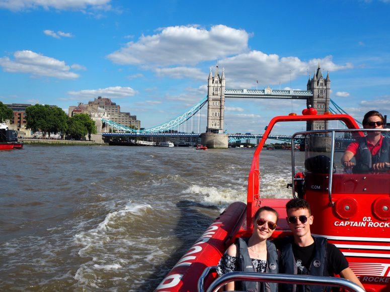 Thames Rockets Tour