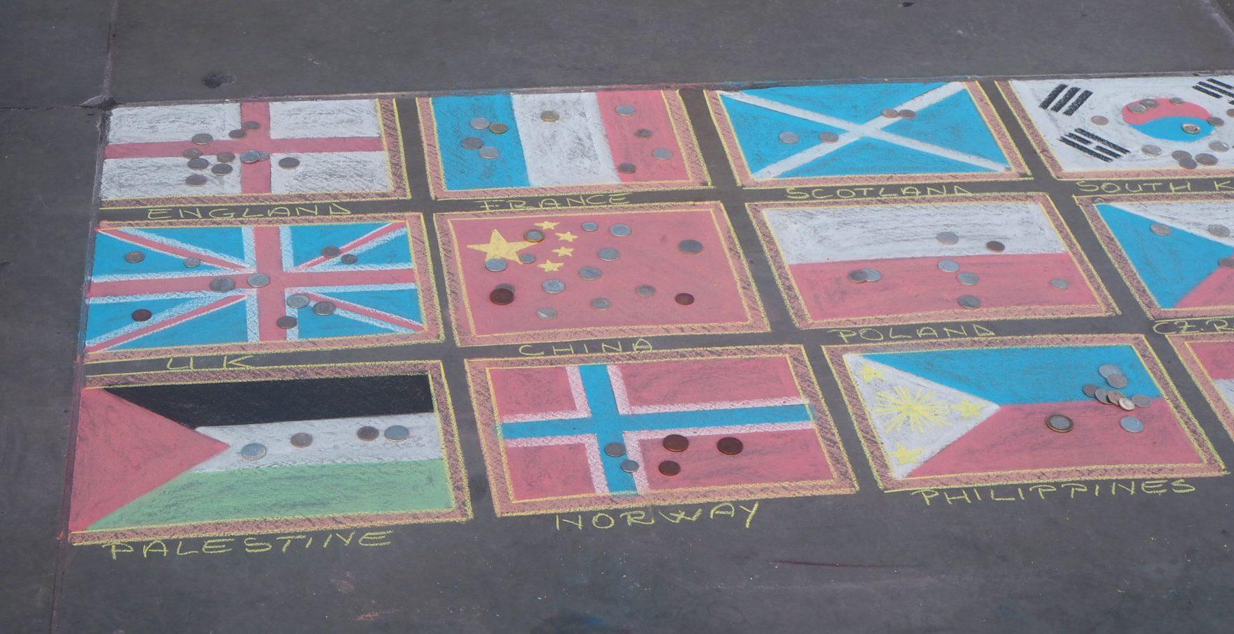 Trafalgar-Flags