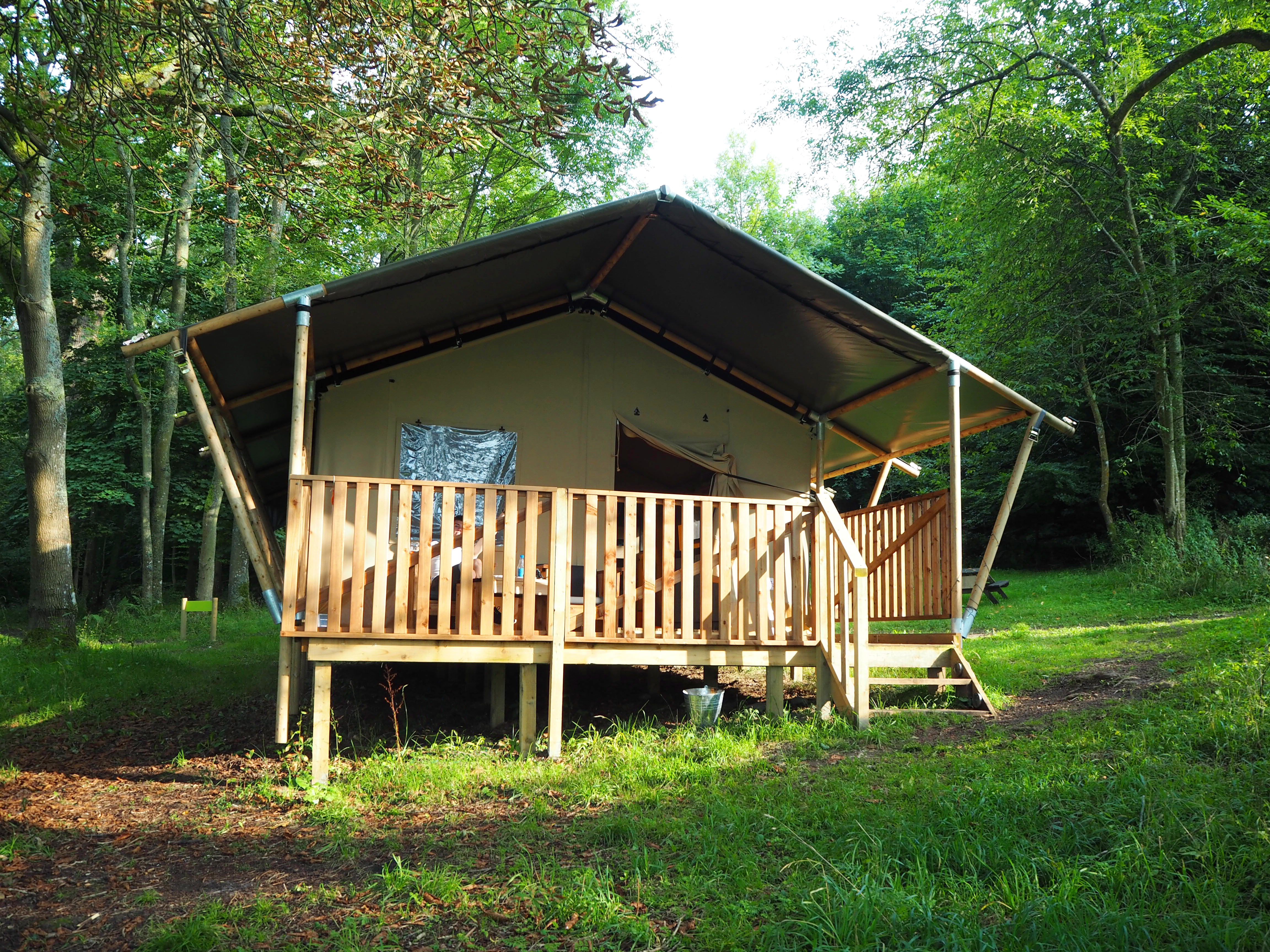 Safari Tent 1 at YHA Tanners Hatch