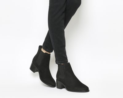 Office Black Chelsea Boots